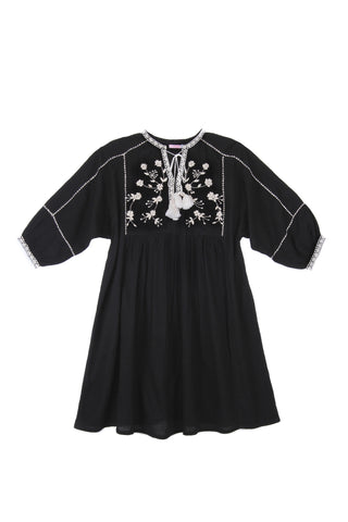 Amelia Dress Paris Gypsy Black - Mama - Online Exclusive
