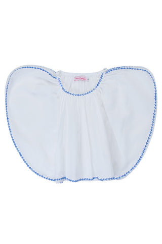 camille sunsuit rose with hand stitch