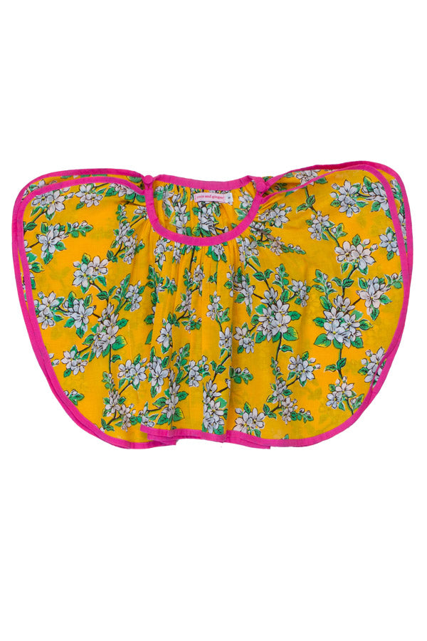 bay blouse saffron almond blossom