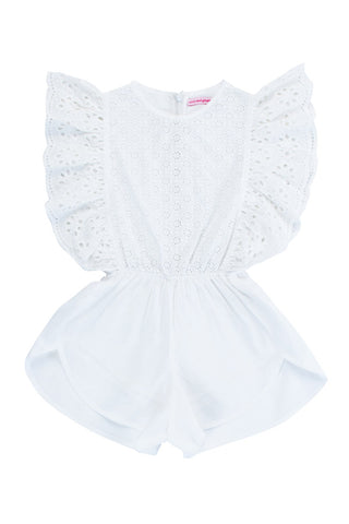 delphine playsuit cutwork and lace (Teen)