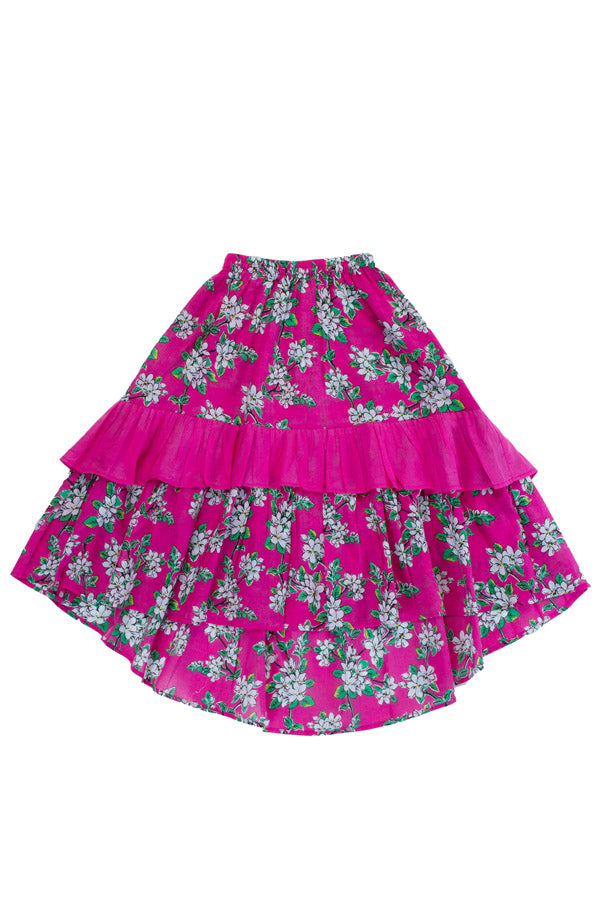Birdie Maxi Skirt Cerise Almond Blossom (Stealing Beauty/Tween)