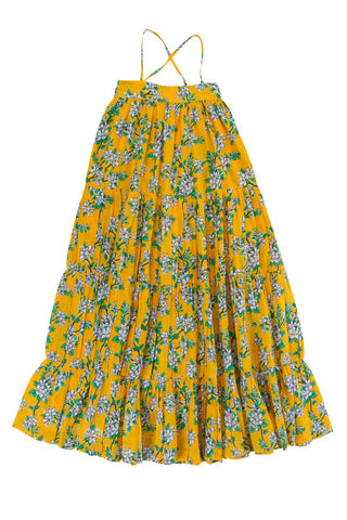 Margaux Dress Saffron Almond Blossom (Stealing Beauty/Tween)