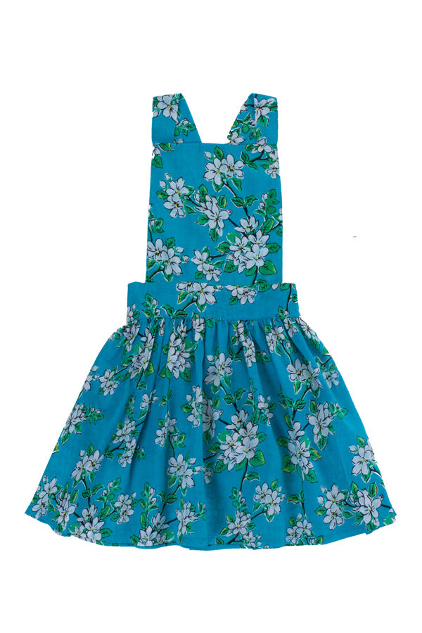 pomme pinafore sea glass almond blossom