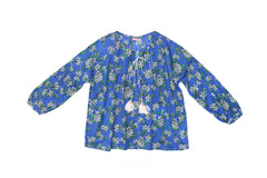 Shelley Blouse Periwinkle Almond - Mama - online exclusive