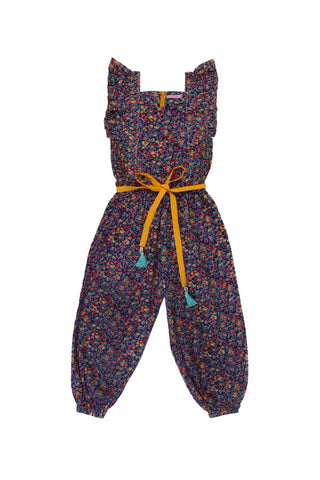 wilde jumpsuit purple wild flower (teen)