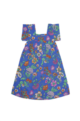 Lilac Dress Summer Patch Embroidery