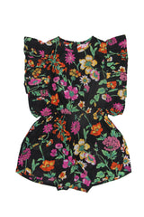 Delphine Playsuit Midnight Fiore