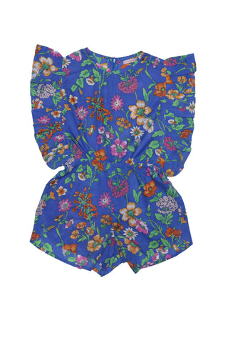 Isadora Blouse Midnight Fiore (Tween/Teen)