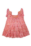 daisy dress Orange Silk - online exclusive