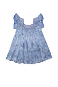 daisy dress Blue Silk - online exclusive