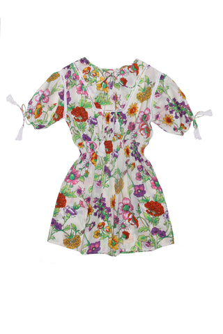 Delphine Playsuit Marigold with Embroidery