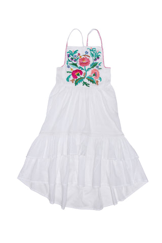 Isadora Dress Sand Fiore (Tween/Teen)