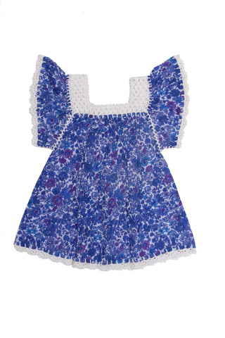 April Dress Sapphire Dahlia (Tween/Teen)