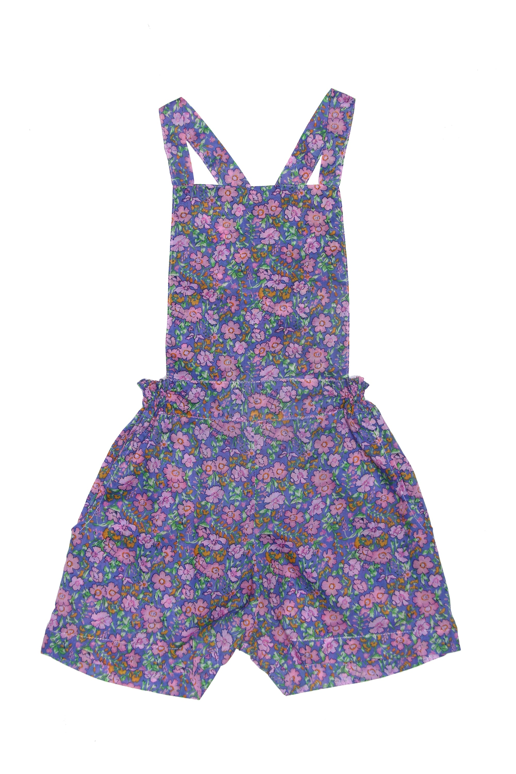Pomme Playsuit Morning Indian Flowers