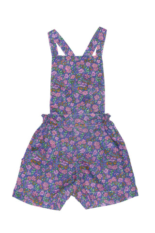 Viola Dress Stripped Pink with Hand Stitch