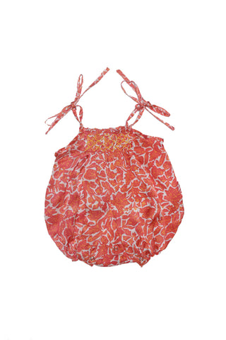 petal sunsuit orange Silk - online exclusive