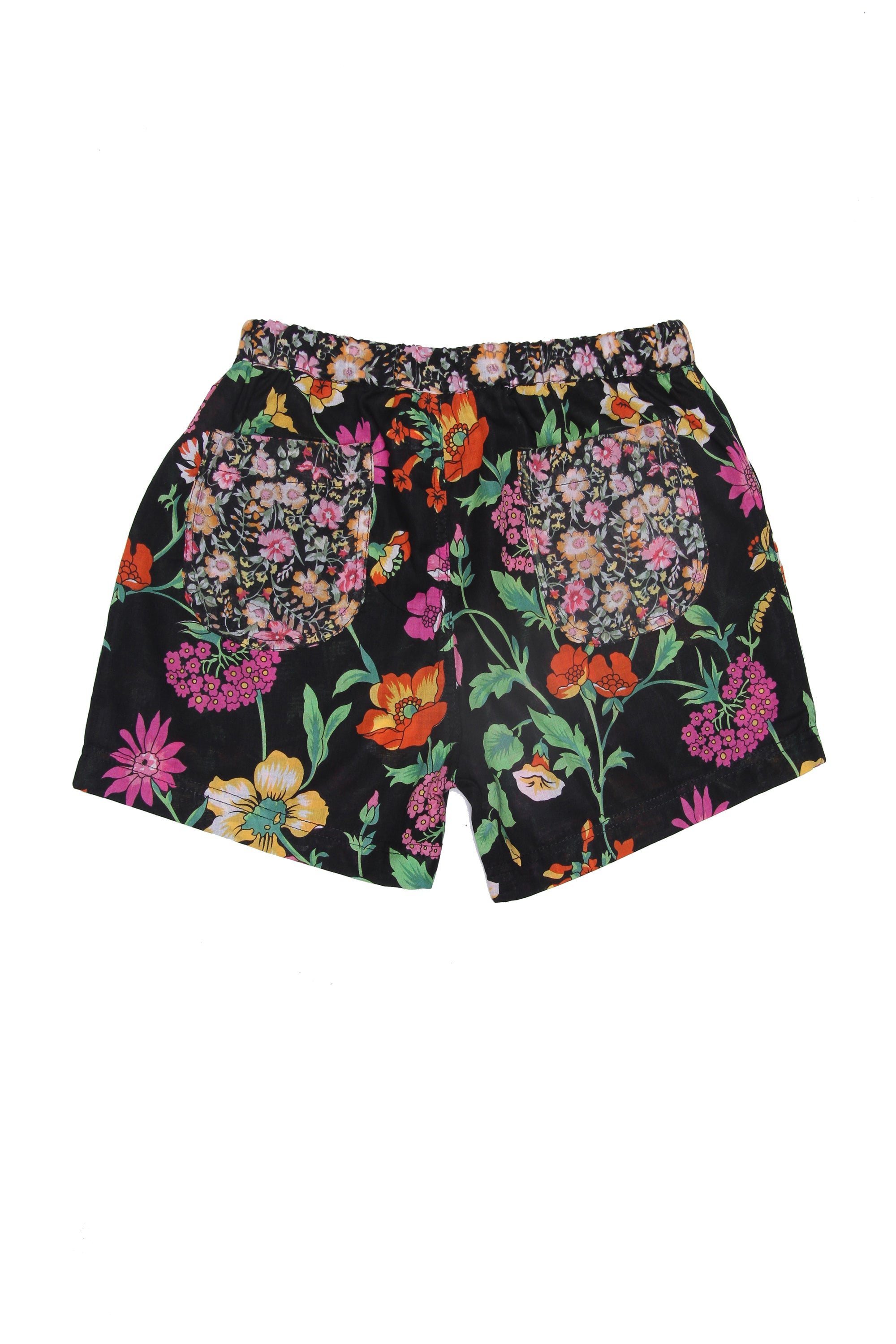 Sunny Short Midnight Fiore Patch