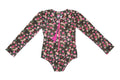 One Pc Rash Vest Midninght Indian Flowers
