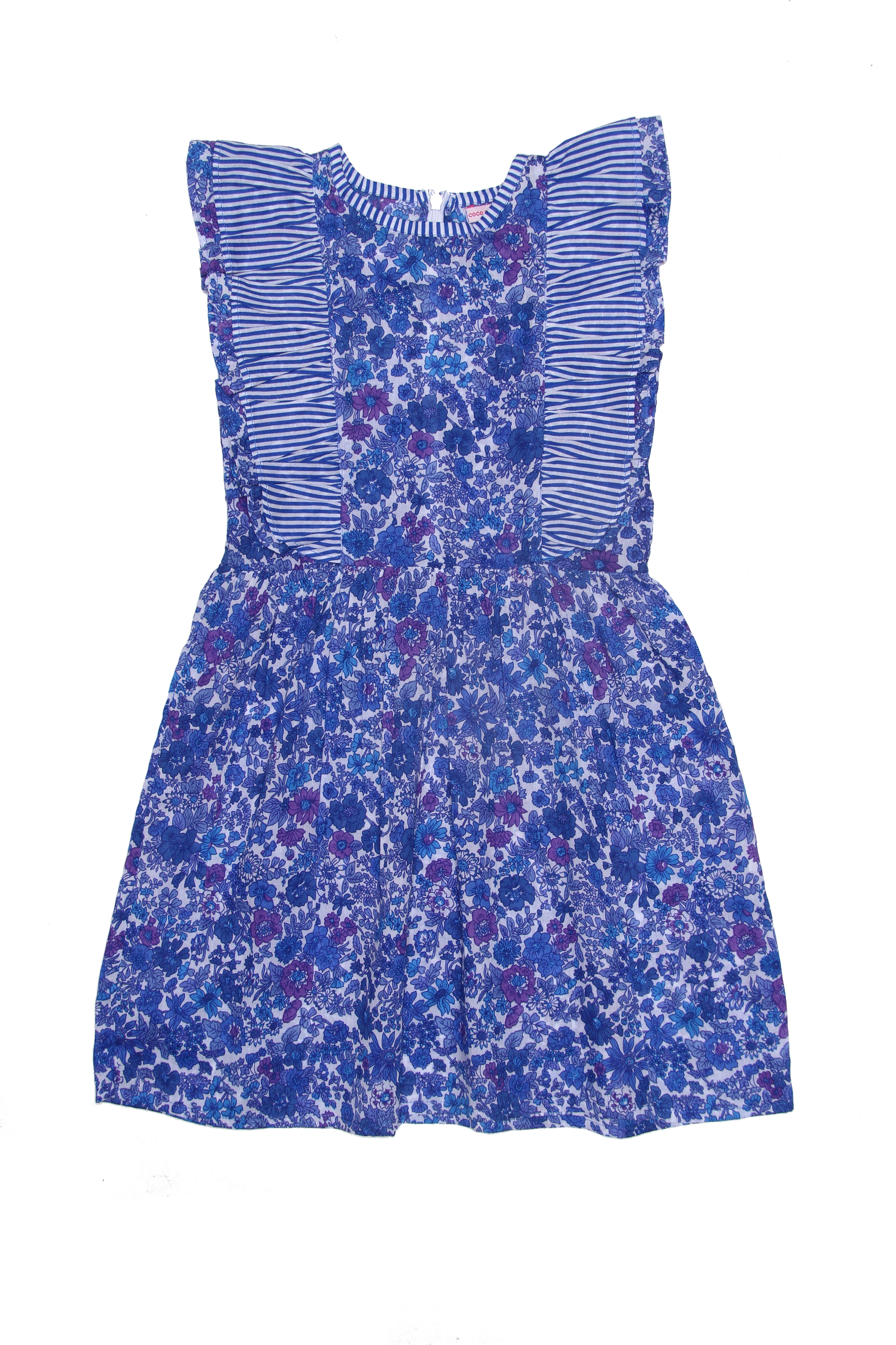 Viola Dress Aster with Stripe (Tween/Teen)