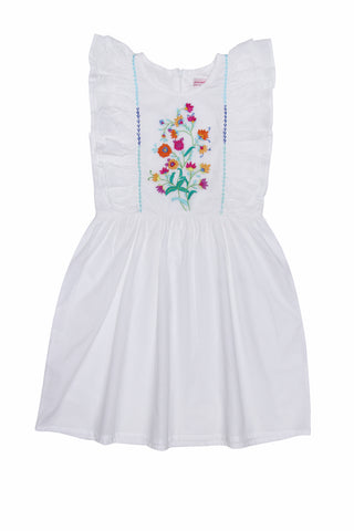 pomme pinafore sea glass almond blossom (baby