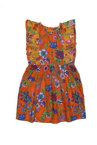 Viola Dress Marigold Fiore Patch