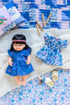Doll - Joni Dress Indigo Dahlia