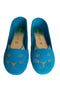 Pussycat Shoes Suede Turquoise