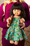 Doll - April Dress Hisbiscus Spring