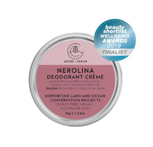 Good + Clean Natural Deodorant Creme
