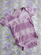 Lillah naturally tie dyed spring romper