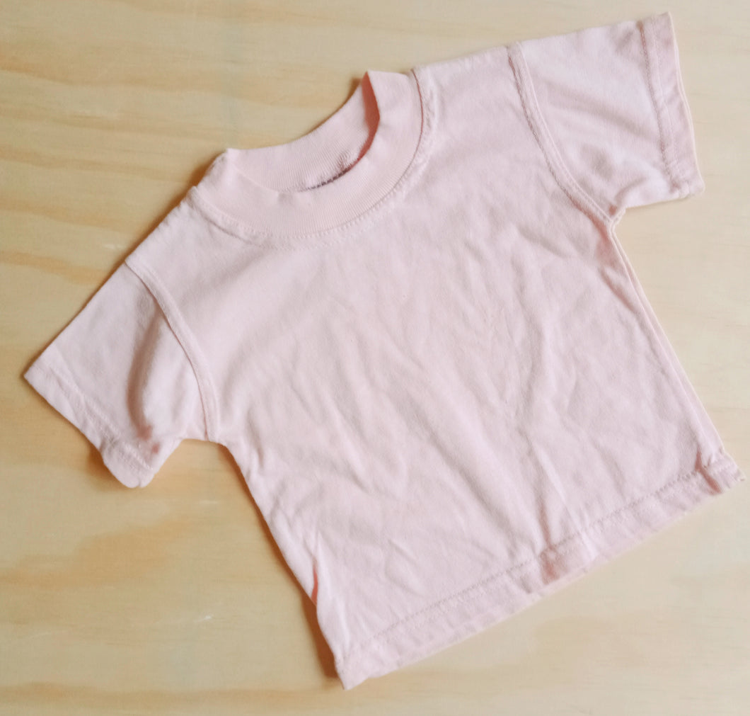 Size 0 soft cotton baby t