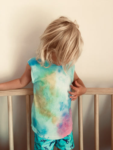 0-6 months. Rainbow Tie Dyed Tank - ON SALE