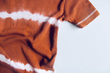 Size 1 chocolate brown tie dye romper