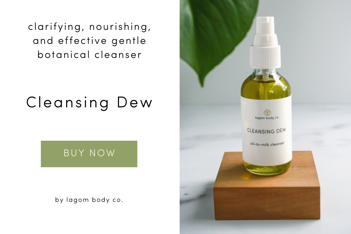 Organic Cleansing Oil by Lagom Body Co. Graphic