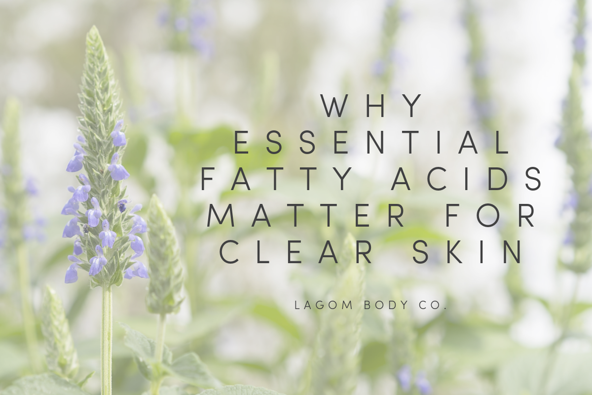 Why Essential Fatty Acids Matter for Clear Skin Promo Image