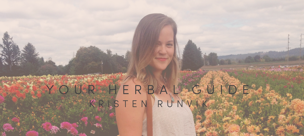 YOUR HERBAL GUIDE - KRISTEN RUNVIK