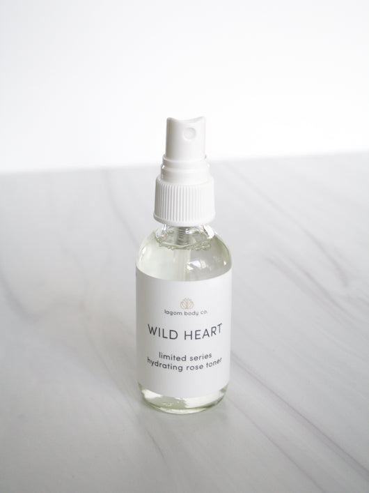 Wild Heart Hydrating Rose Toner | Limited Edition