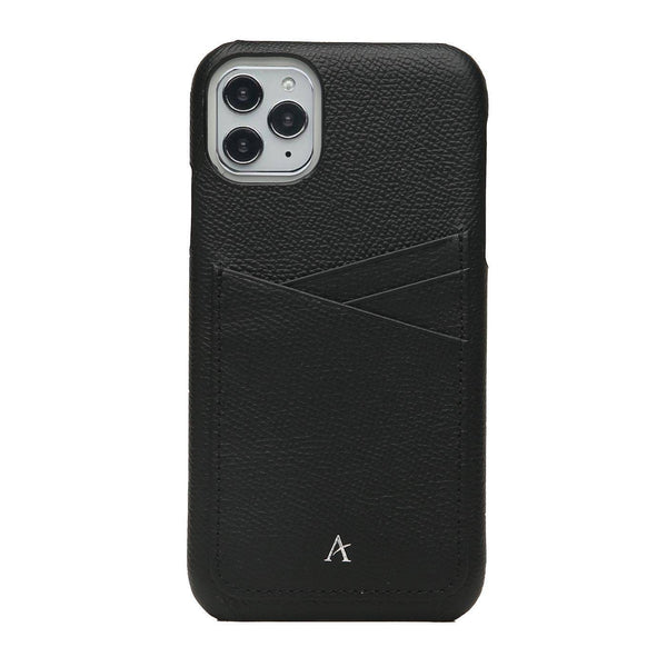 Leather Card Slot iPhone 11 Pro Case - Affluent