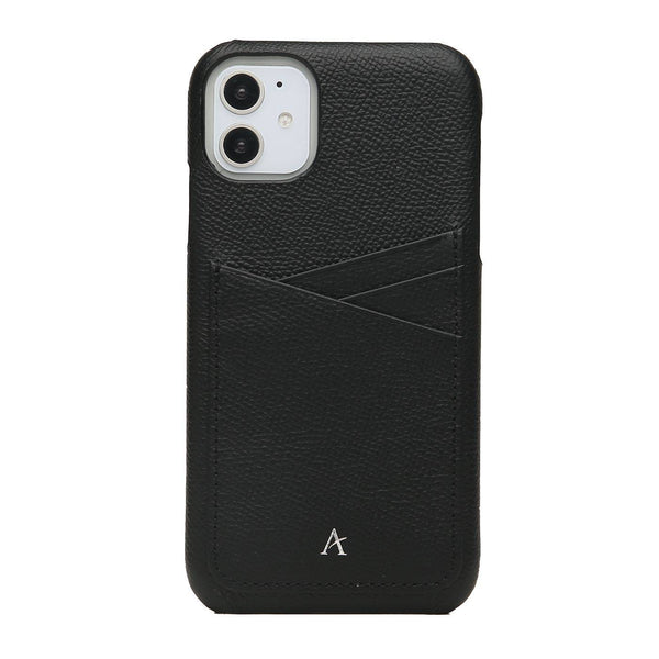 Leather Card Slot iPhone 11 Case - Affluent