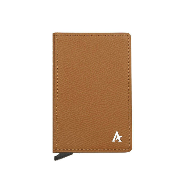 Leather Pop-out Card Holder - Affluent