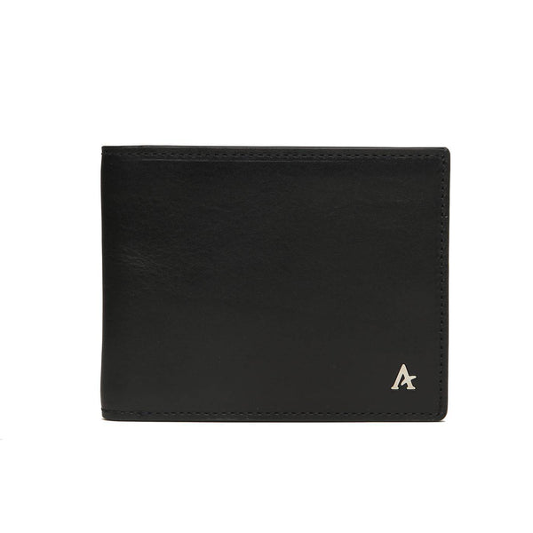Leather Bi-Fold Wallet (Natural) - Affluent