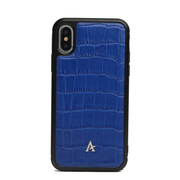 Leather Ultra Protect iPhone XS/X Case (Croc)