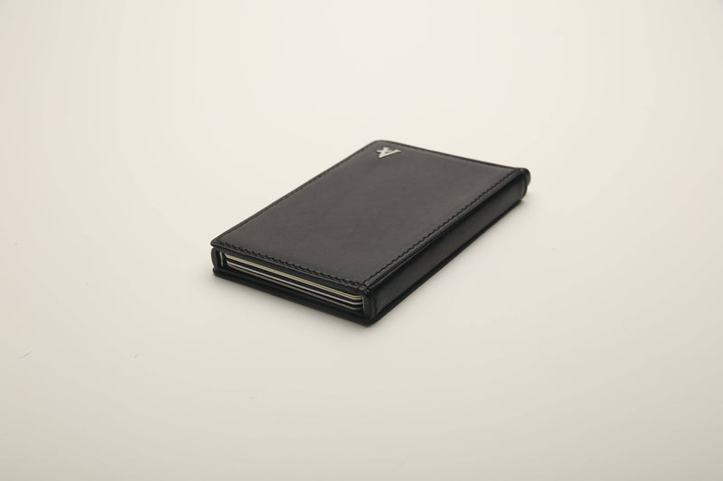 Leather Pop-out Card Holder (Natural) - Affluent