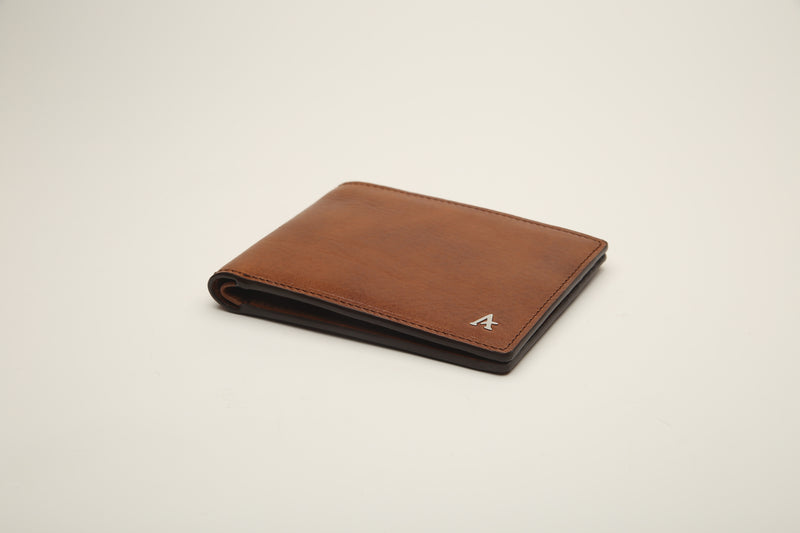 Vegetable Tanned Leather Bi-Fold Wallets
