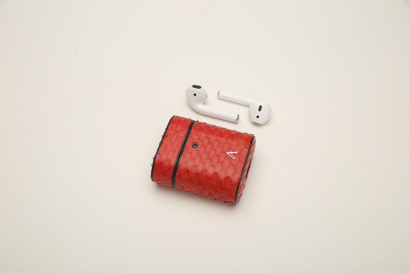 Python Leather AirPod Cases