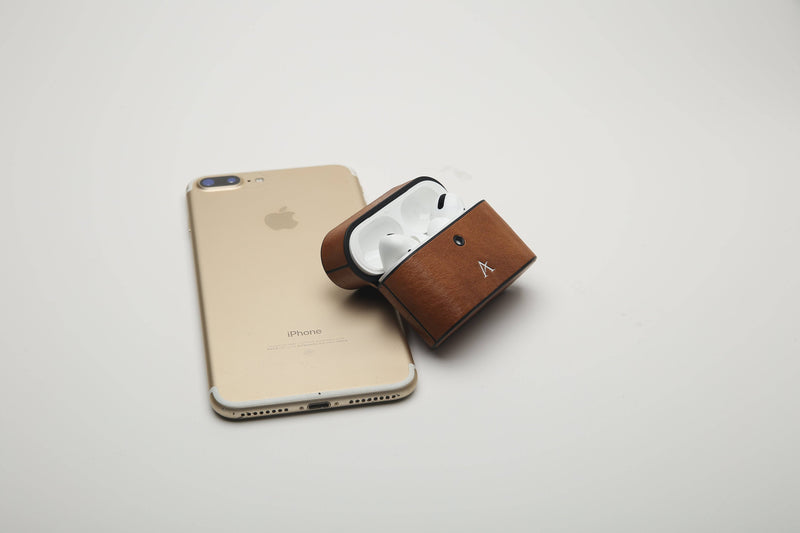 Leather AirPod Pro Case (Natural)