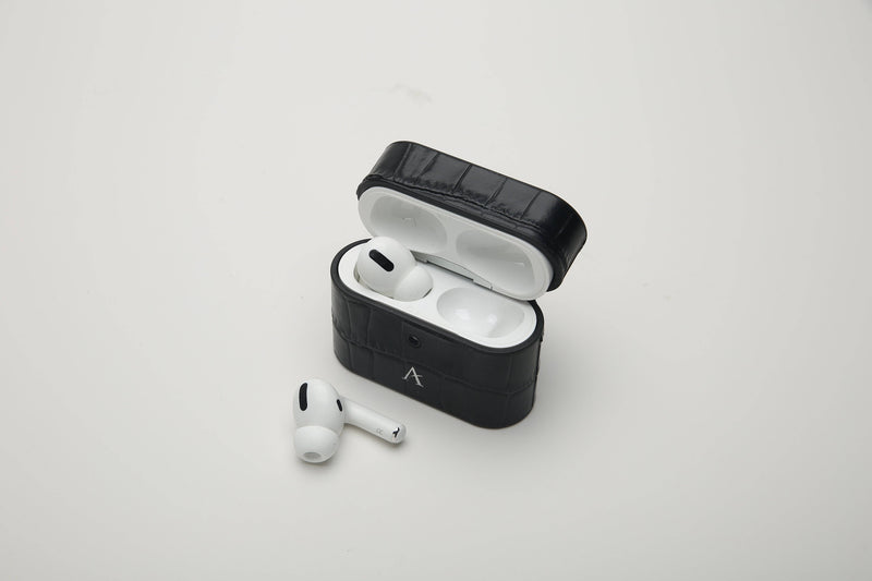 Leather AirPod Pro Case (Croc) - Affluent