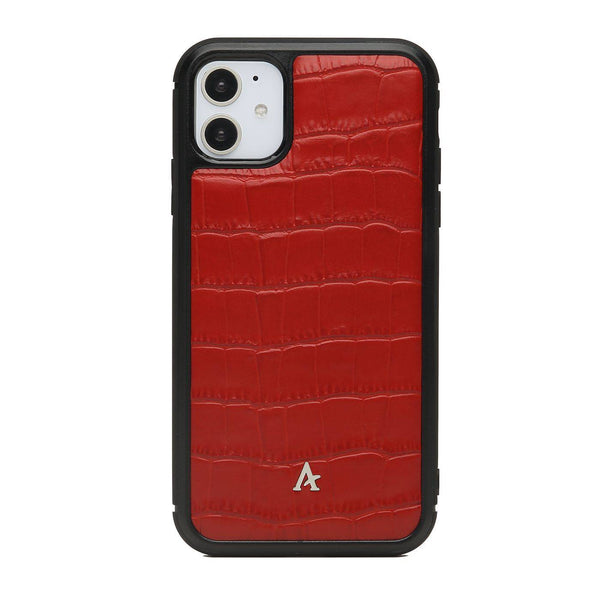 Leather Ultra Protect iPhone 11 Case (Croc)