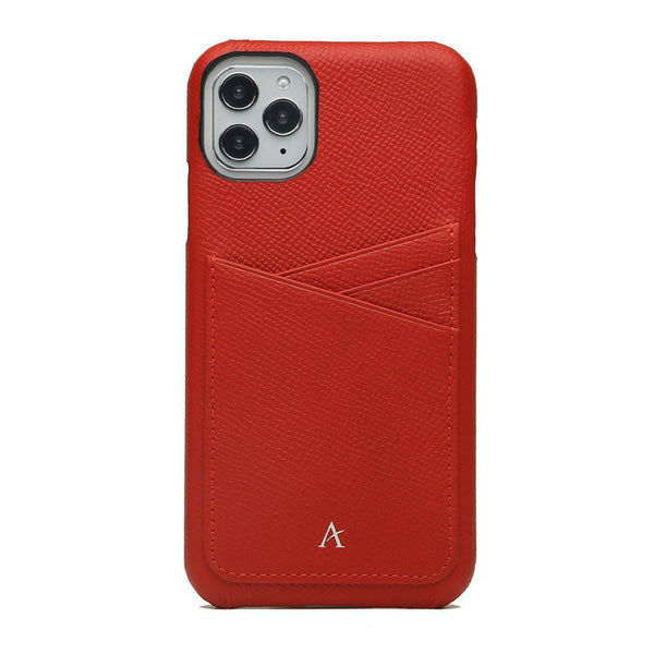Leather Card Slot iPhone 11 Pro Max Case - Affluent
