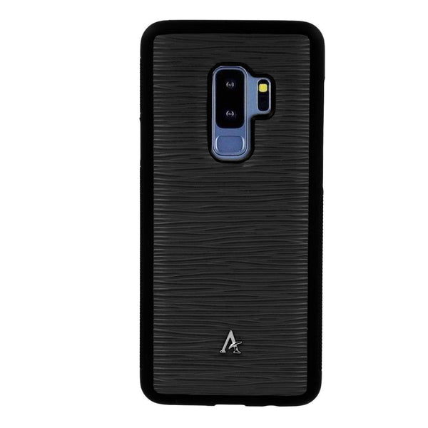 Waved Leather Samsung Galaxy S9+ Cases - Affluent